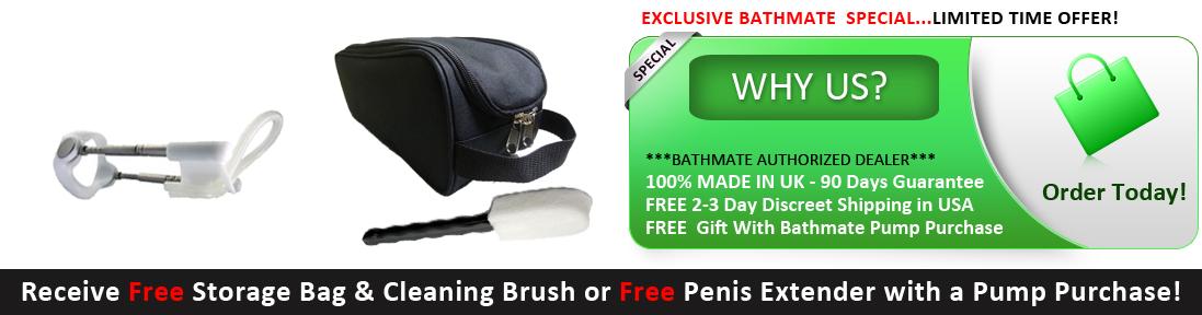 Bathmate USA | Penis enlargement The Natural Way!